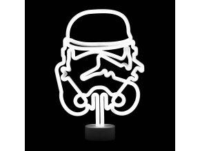 star wars neonova lampicka original stormtrooper