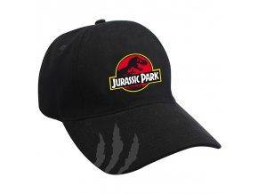 jurassic park casquette noir jurassic logo