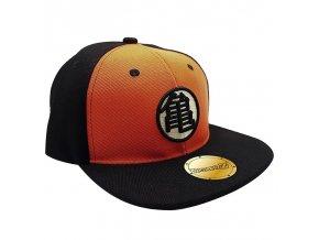 dragon ball casquette snapback noir orange kame
