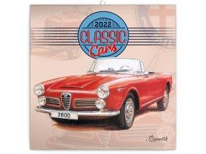 poznamkovy kalendar classic cars vaclav zapadlik 2022 30 30 cm 733134 31