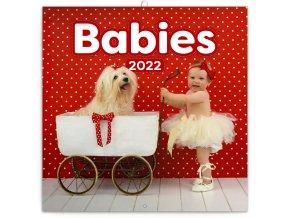 poznamkovy kalendar babies vera zlevorova 2022 30 30 cm 745346 31