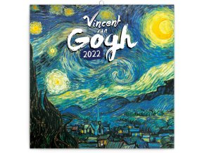 poznamkovy kalendar vincent van gogh 2022 30 30 cm 38078 31
