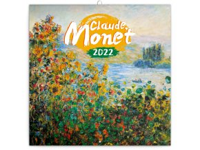 poznamkovy kalendar claude monet 2022 30 30 cm 389028 31