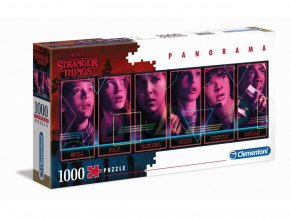 Puzzle Stranger Things - Panorama, 1000 ks
