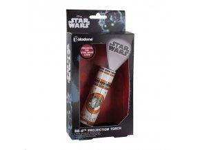 star wars projekcni baterka lampicka bb8