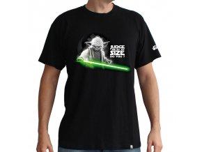Pánské tričko Star Wars - Mistr Yoda