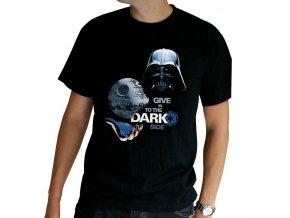 star wars damske tricko dark side