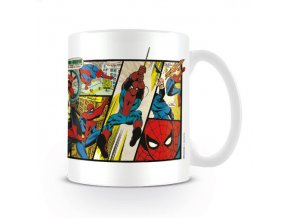 marvel spiderman keramicky hrnek comics 2