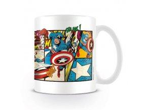marvel avengers captain america keramicky hrnek comics 2