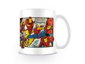 marvel avengers iron man keramicky hrnek comics 2