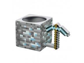 minecraft 3d hrnek diamantovy krumpac 4