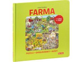 farma puzzle omalovanky kvizy 674282 9