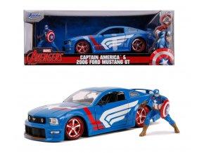 marvel avengers captain america 2006 ford mustang gt