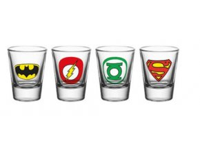 Štamprle Justice League - 60ml, 4ks