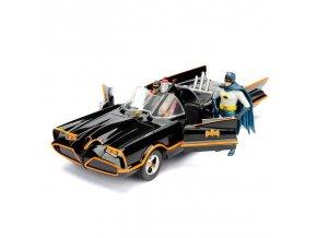 dc comics batman kovovy model batmobil batman robin