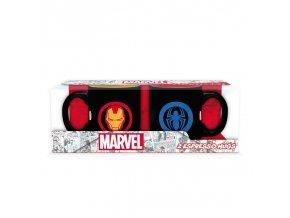 marvel avengers sada espresso hrnku iron man spiderman