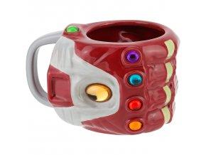 marvel avengers 3d hrnek ironman rukavice nekonecna 3
