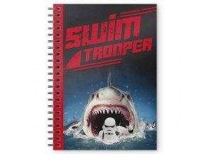 star wars krouzkovy blok swim trooper 1