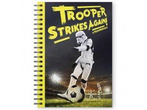 star wars krouzkovy blok trooper strikes back 1