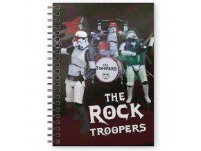 star wars krouzkovy blok the rock troopers 1