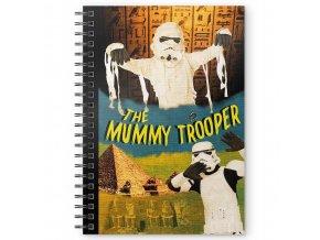 star wars krouzkovy blok the mummy trooper 1