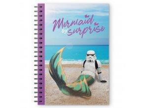 star wars krouzkovy blok mermaid by surprise 1