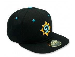hearthstone snapback cap black rosette