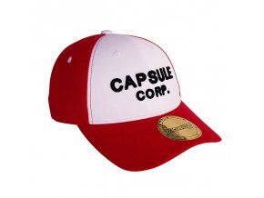 dragon ball cap red white capsule corp