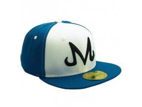 dragon ball snapback cap blue white majin