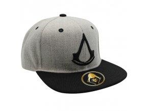 assassin s creed snapback cap grey crest (3)
