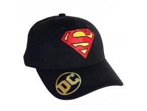 dc comics cap black superman logo