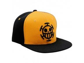 one piece snapback cap black yellow trafalgar
