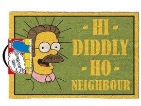 Rohožka Simpsons - Ned Flanders