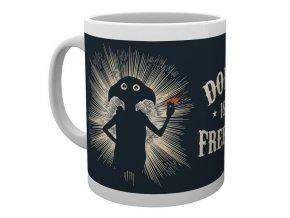 harry potter hrnek kotel dobby free elf