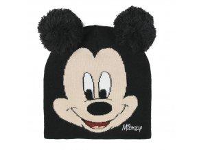 mickey mouse zimni cepice s usima