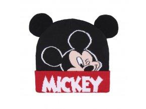 mickey mouse hat zimni cepice winter