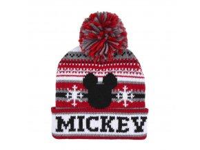 mickey mouse hat zimni cepice winter mambule