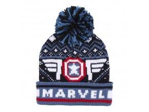 marvel captain america hat zimni cepice winter