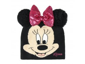 minnie mouse hat zimni cepice winter masle pink