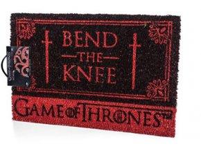 Rohožka Hra o trůny - Bend the Knee
