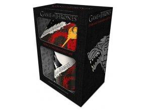 Dárkový sada Hra o trůny - Stark & Targaryen