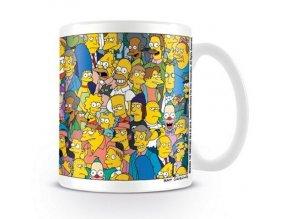 Hrnek Simpsons - Characters