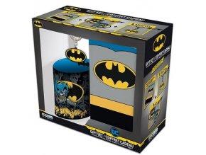 Dárkový set Batman - Hrnek, blok, klíčenka
