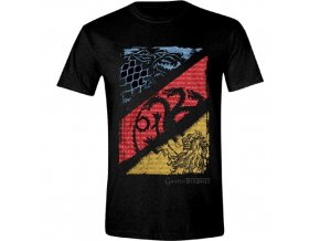 Pánské tričko Hra o trůny - Diagonal Sigils