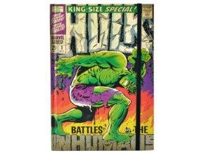 Blok A5 Marvel - Hulk