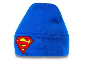 Zimní čepice Superman - Modrá