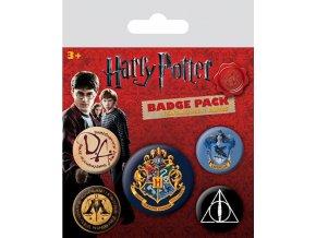 Sada placek Harry Potter - Bradavice