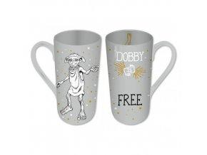 Proměňovací Latte hrnek Harry Potter - Free Dobby