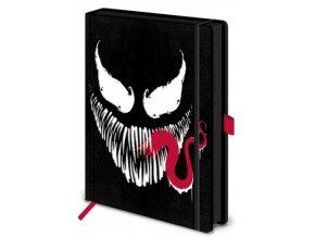 Luxusní zápisník A5 Marvel - Venom