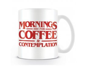Hrnek Stranger Things - Coffee and Contemplation